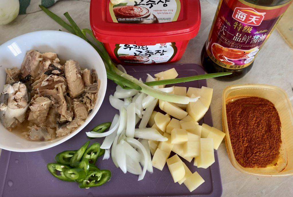 «Йоночиге» – суп с лососем: ингредиенты