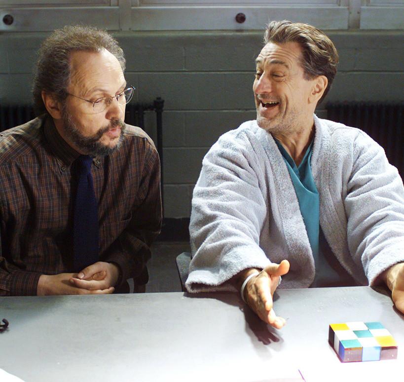 Кадр из фильма «Анализируй то» (2002)