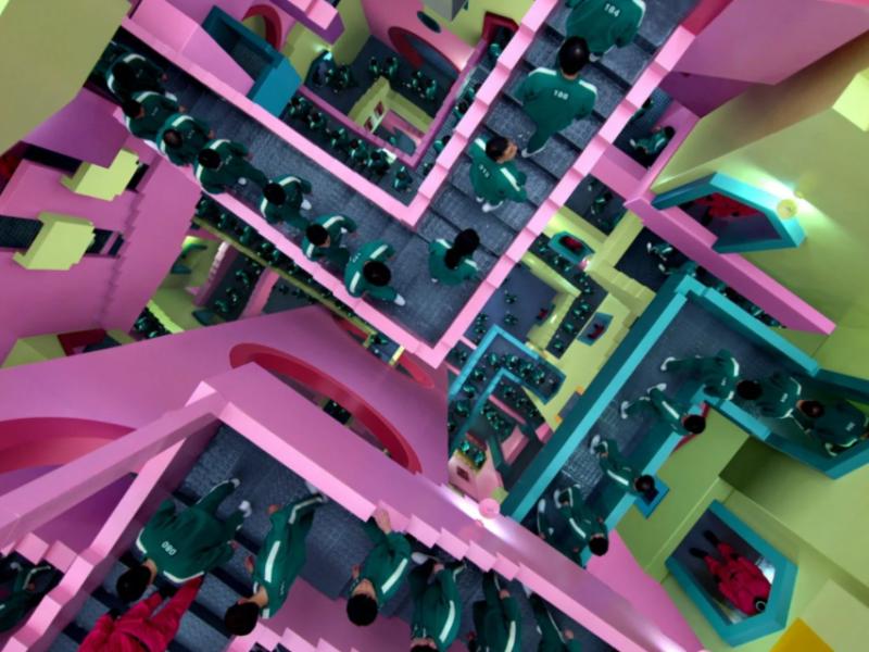 «Игра в кальмара» – кадр из фильма